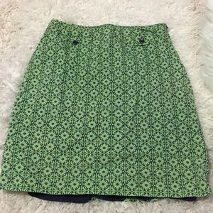 💋4/$50 Supercute J. Crew geometric skirt side zip